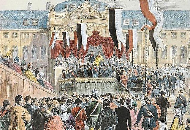 Münster feiert 1865 den 50. Jahrestag der preußischen Provinzgründun Westfalen; Foto: LWL