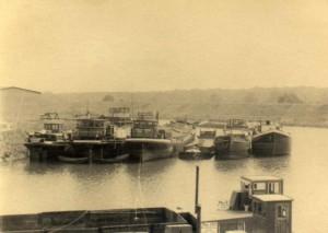 Zechenhafen um 1920