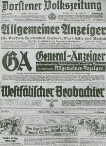 Titel aus der NS-Zeit