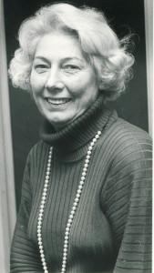 Verlegerin Annemarie Bauer