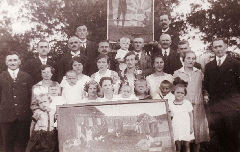 Dorstener Zeugen Jehovas 1930 im Haus an der Hagenbecker Sraße in Holsterhausen