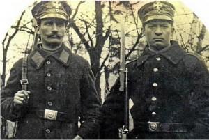 Zöllnerstreife am Freudenberg um 1920