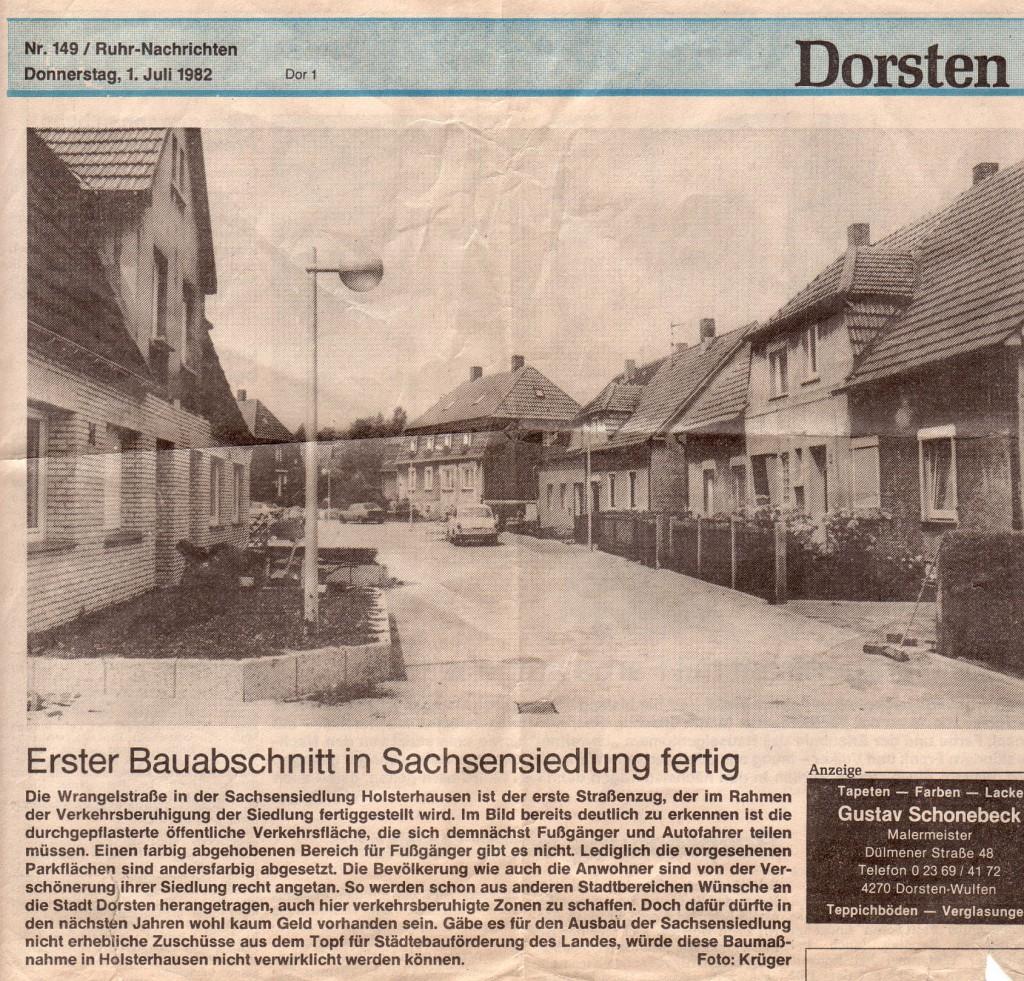Ruhr-Nachrichten vom 1. Juli 1982