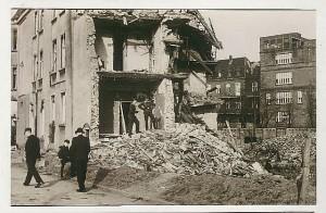 Haus Krietemeyer 1943 bombardiert