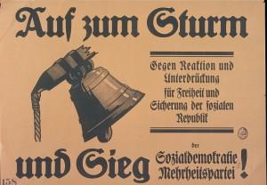 Wahlplakat 1920; Bundesarchiv