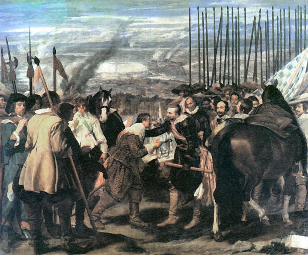 Übergabe von Breda 1625