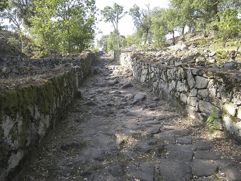 Straße aus der keltischen Siedlungsperiode