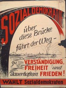 Wahlpklakat 1946